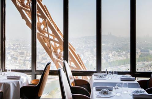 Star restaurant Eiffel Tower