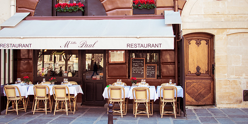 Dine at Restaurant Paul, Place Dauphine