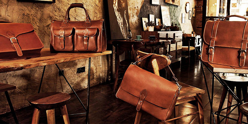 Paris vintage leather goods