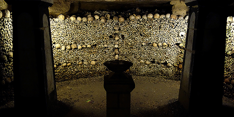 Catacombs of Paris the eighteenth-century ossuary