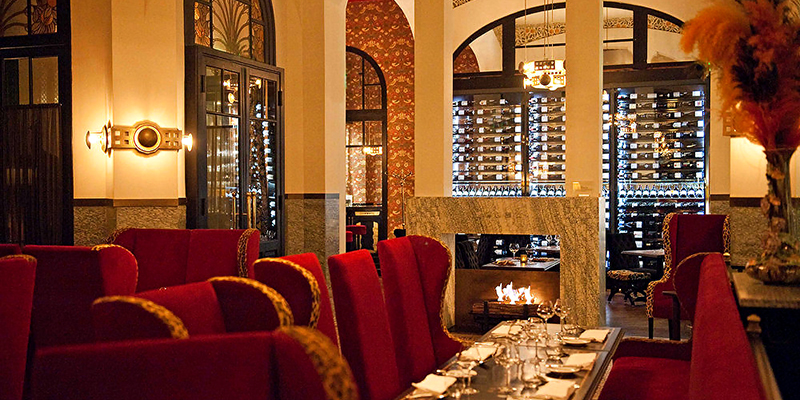 Visit Michelin starred restaurant Les Climats