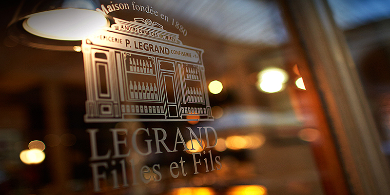 Five generations of Legrand wine-sellers and grocers