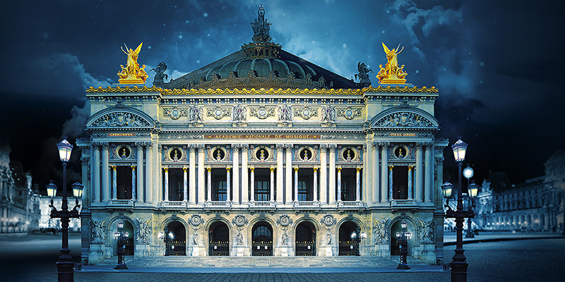 Visit Opera in Paris