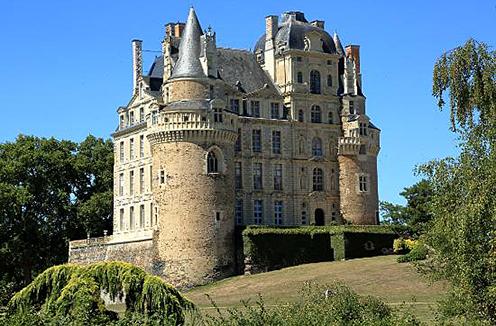 Plentifull vineyards of the Loire valley