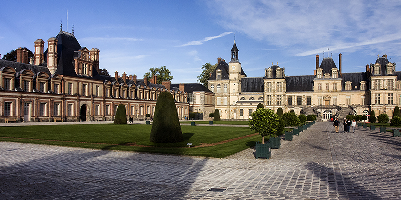 Chateau de Fontainebleau, a place where history and art collide