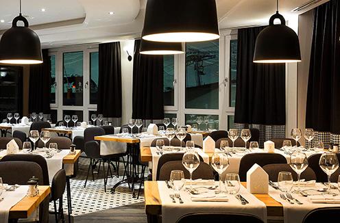 Restaurant at Araucaria Hotel