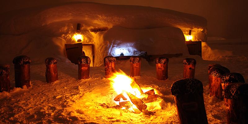 Discover the igloo village of La Plagne.