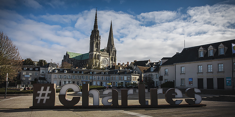 Chartres is best known for the Cathédrale Notre-Dame de Chartres
