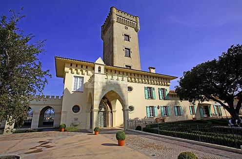 Château de Crémat, one of France's smallest yet most beautiful wineries.