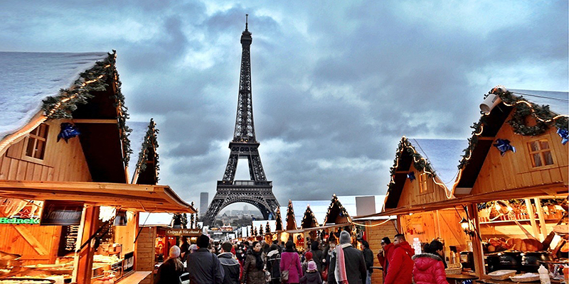 The young and the young at heart will enjoy the sites and sounds of the holiday season visiting Paris Christmas markets