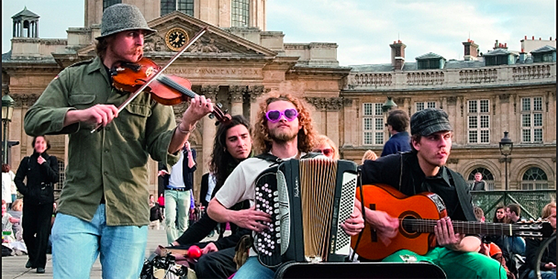 join Parisians and visitors alike at Fete de la Musique on June 21