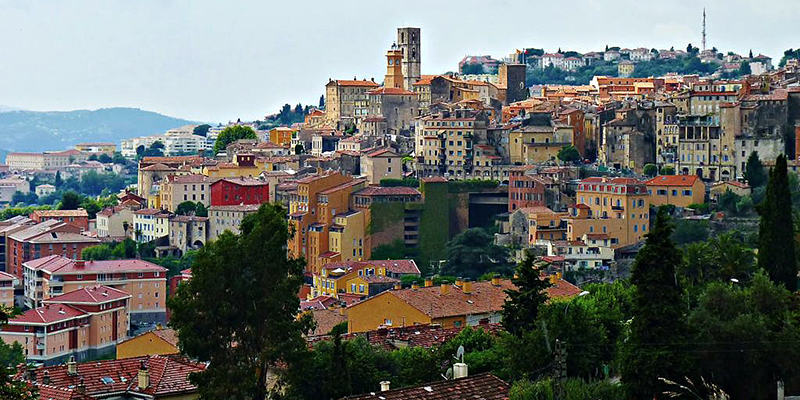 Grasse, known as the perfume capital of France