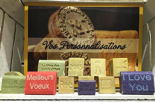 La Grande Savonnerie, specializes in the genuine Marseillais soap making.