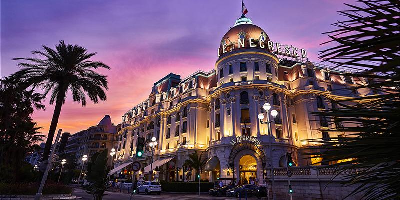 Le Negresco Hotel in Nice