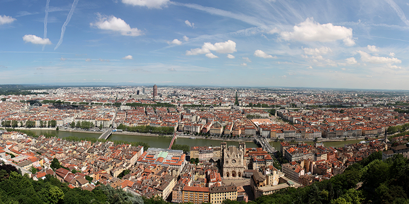 Lyon is the archetype of the heritage city