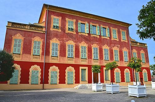 Matisse Art Museum in Nice, France