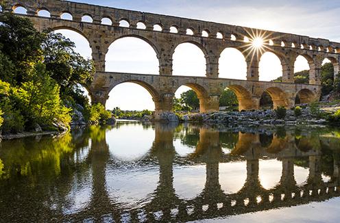 UNESCO World Heritage Pont du Gard