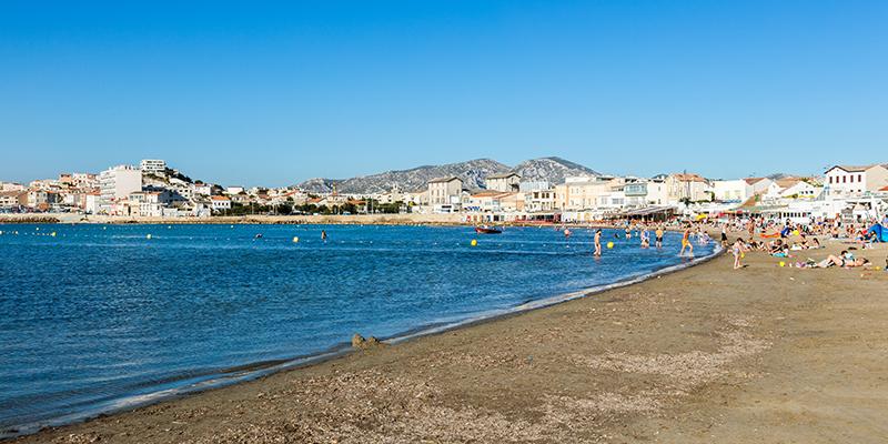 Marseille has a hot Mediterranean climate.
